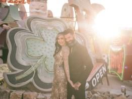 las vegas engagement shoot neon museum boneyard by nicole caldwell 04