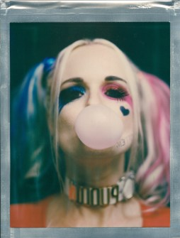 cosplayer Harley Quinn 8 x 10 color impossible poalroid