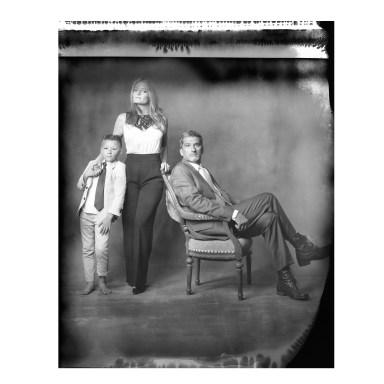 new 55 film studio family portrait
