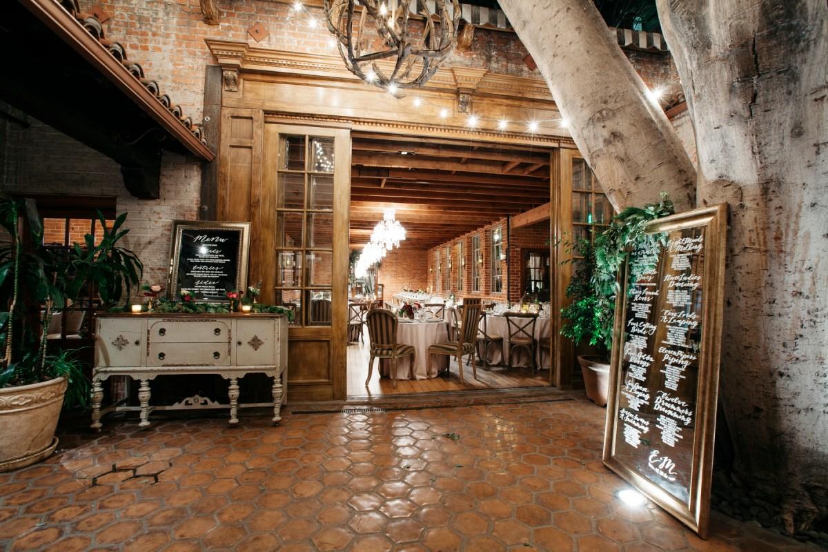 carondelet house wedding room decor