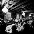 carondelet house reception wedding with guests