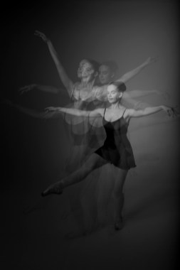 ballet multiple exposure photos orange county studio