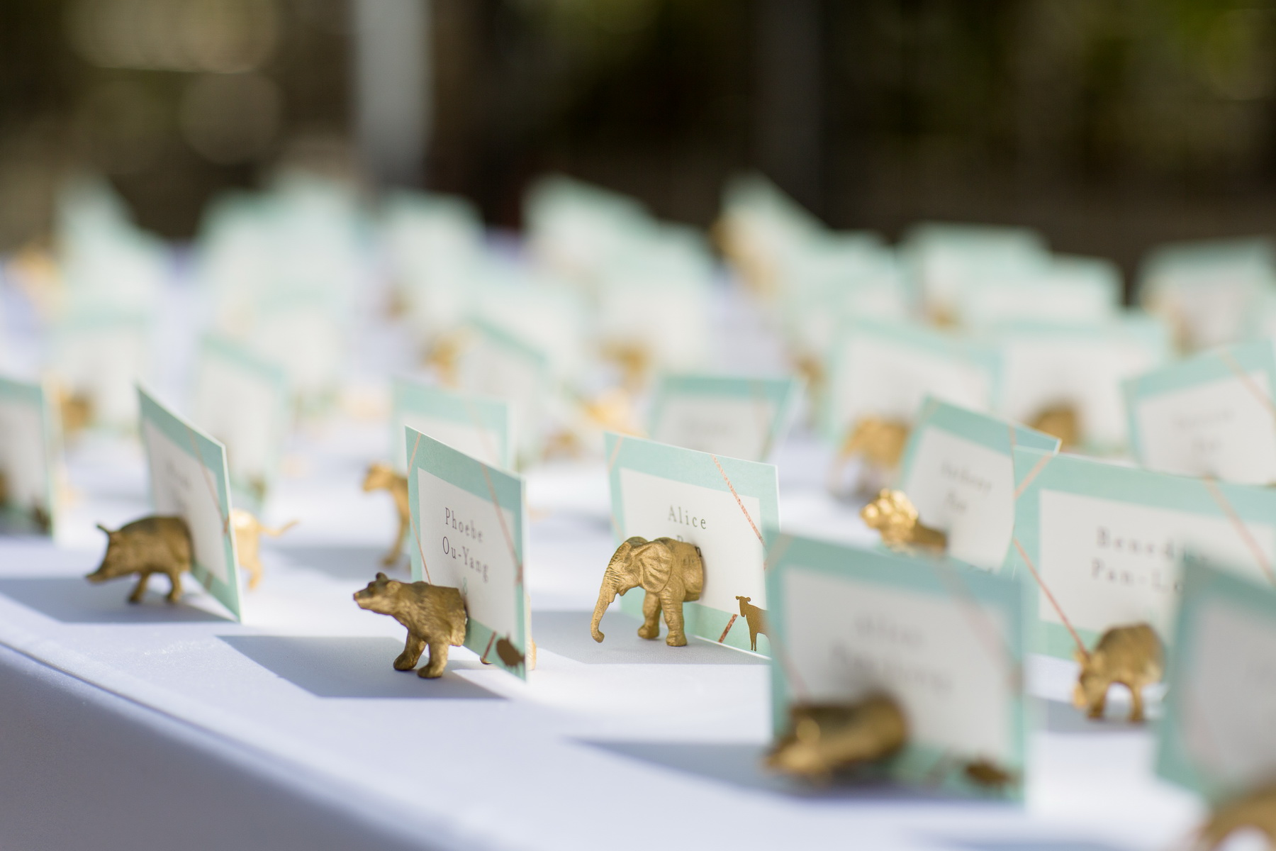 seven degrees wedding laguna beach photographer nicole caldwell table placecards
