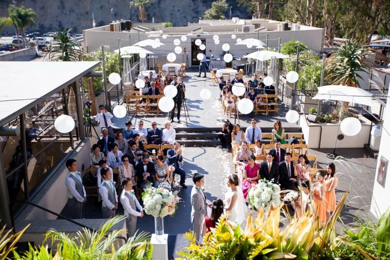 seven degrees wedding laguna beach photographer nicole caldwell wedding ceremony