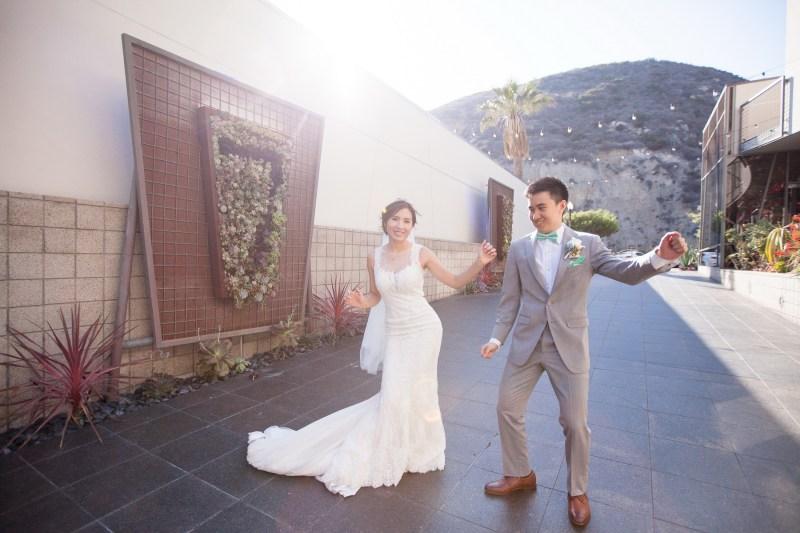 seven degrees wedding laguna beach photographer nicole caldwell bride and groom dancing
