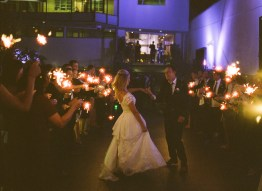 seven degrees wedding photographer nicole caldwell who uses film cinestill sparklers
