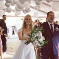 seven degrees wedding photographer nicole caldwell who uses film cinestill wedding ceremony