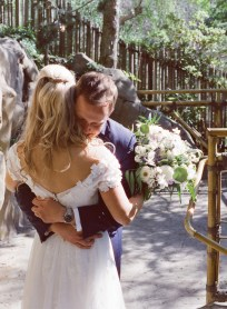 seven degrees wedding photographer nicole caldwell who uses film cinestill first look locations