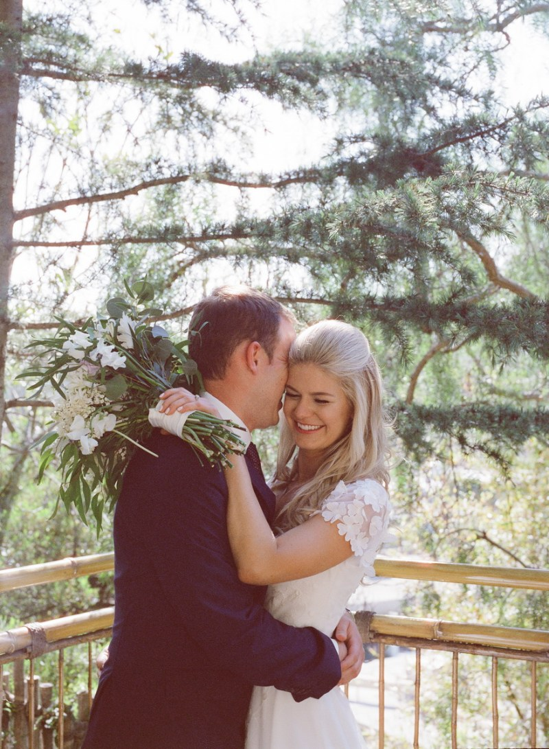 seven degrees wedding photographer nicole caldwell who uses film cinestill first look