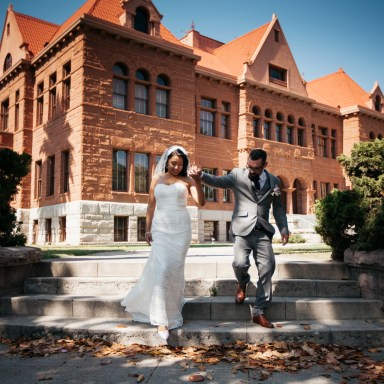 old county courthouse weddings nicole caldwell santa ana front of building