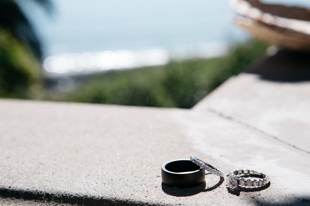 rings wedding bel air bay club wedding palos verdes