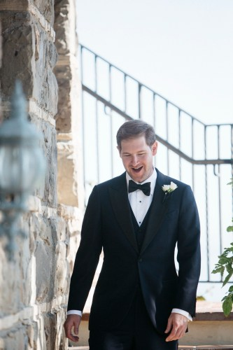 frist look wedding bel air bay club wedding palos verdes