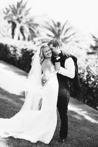 bride and groom wedding bel air bay club wedding palos verdes