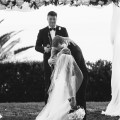 frist kiss wedding bel air bay club wedding palos verdes