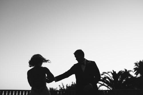 bride and groom dancing bel air bay club wedding palos verdes