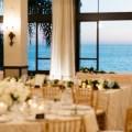 reception view form bel air bay club wedding