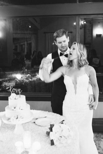 bel air bay club wedding cake