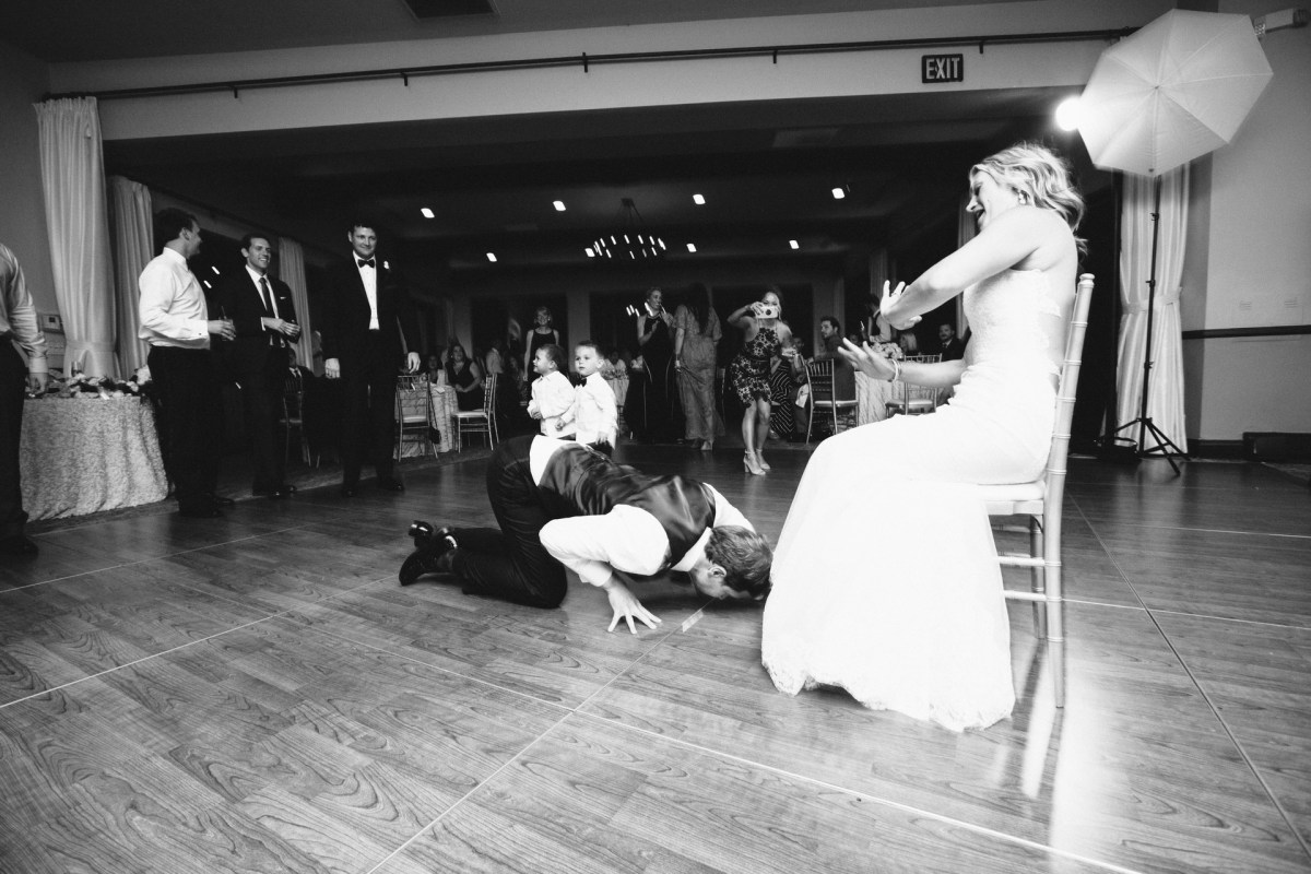 bel air bay club wedding dance floor