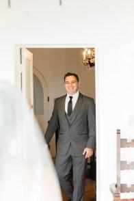casa romantica san clemente wedding photographer artistic first look