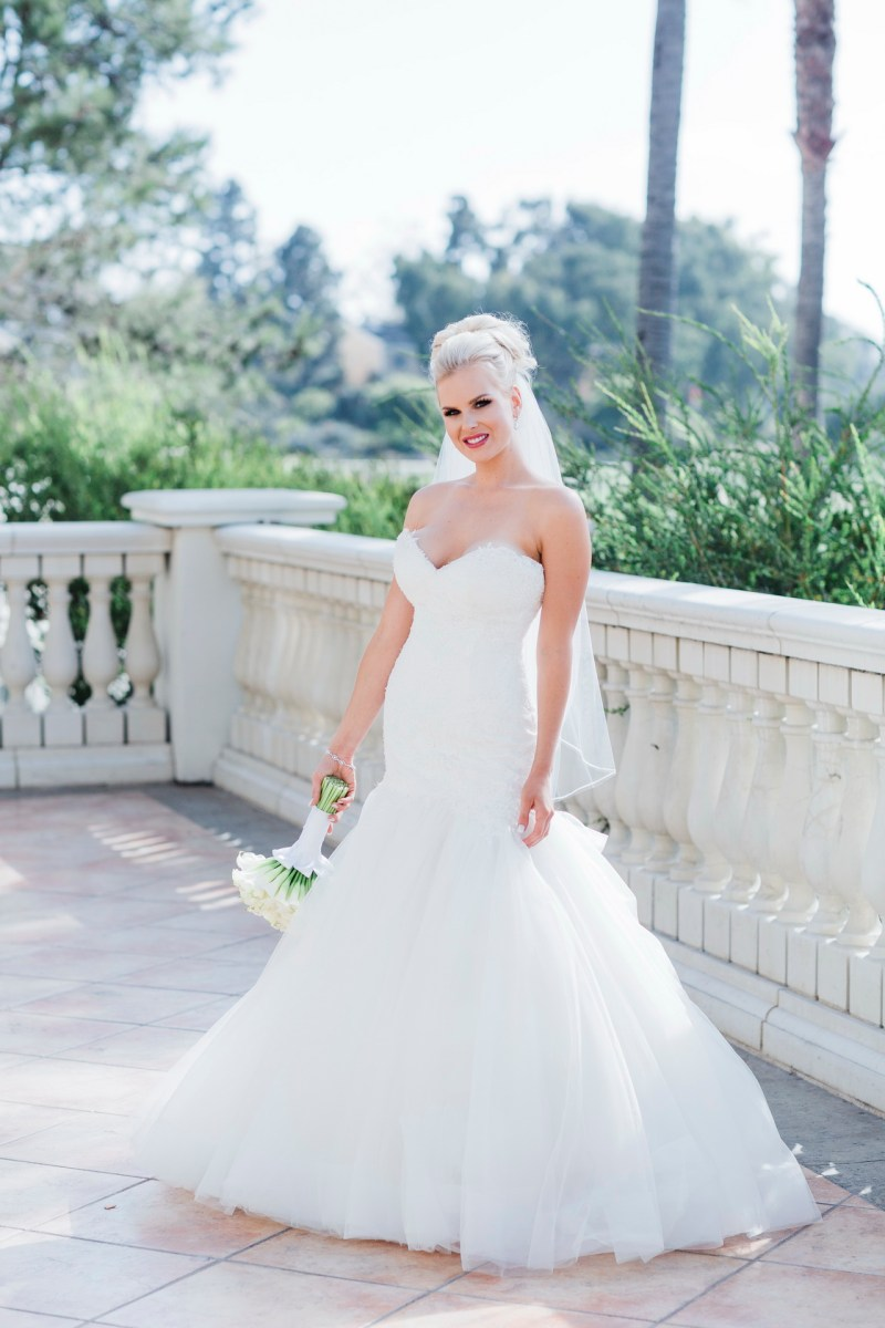 bride standing Monarch beach resort wedding photographer nicole caldwell