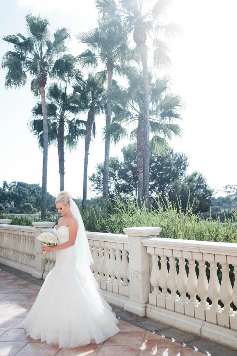 bride wedding Monarch beach resort wedding photographer nicole caldwell
