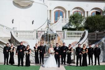 wedding party Monarch beach resort wedding photographer nicole caldwell
