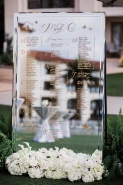wedding table cards Monarch beach resort wedding photographer nicole caldwell