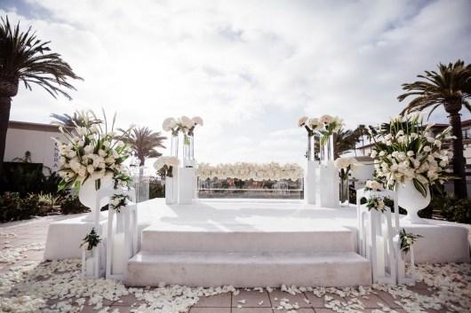 ceremony detail Monarch beach resort wedding photographer nicole caldwell