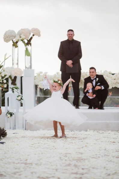 flower girl Monarch beach resort wedding photographer nicole caldwell