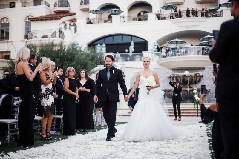 wedding creemony Monarch beach resort wedding photographer nicole caldwell