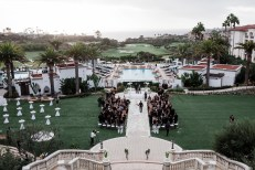 wedding ceremony Monarch beach resort wedding photographer nicole caldwell