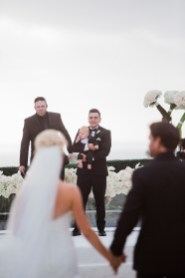 ceremony Monarch beach resort wedding photographer nicole caldwell
