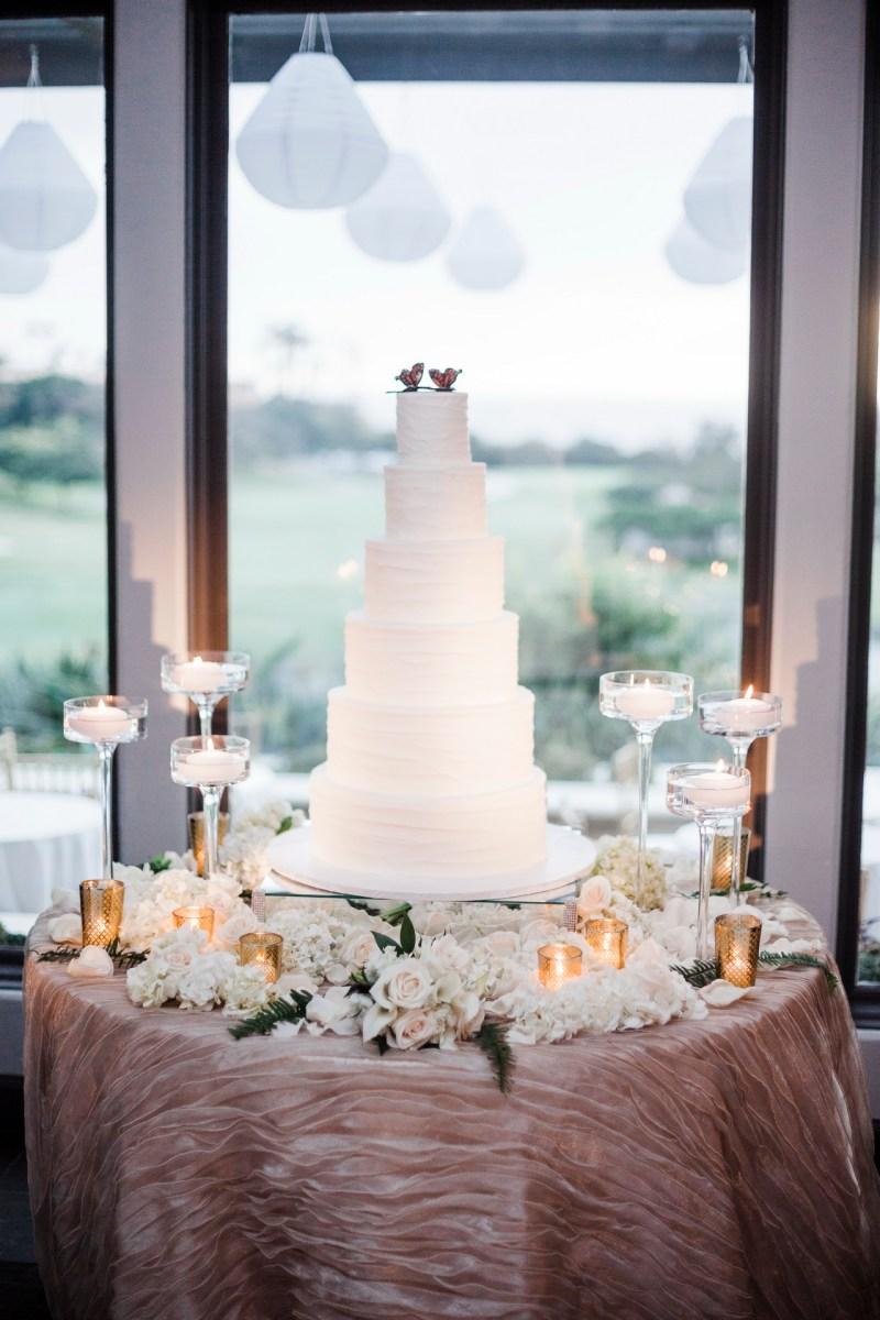 cake Monarch beach resort wedding photographer nicole caldwell