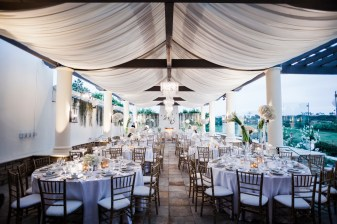reception area Monarch beach resort wedding photographer nicole caldwell