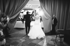 grand entrance Monarch beach resort wedding photographer nicole caldwell