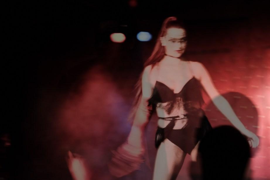 burlesque photography black veils nicole caldwell 13