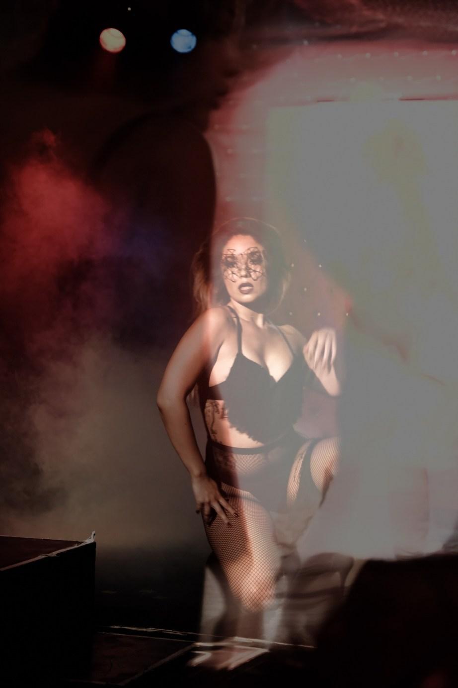 burlesque photography black veils nicole caldwell 26