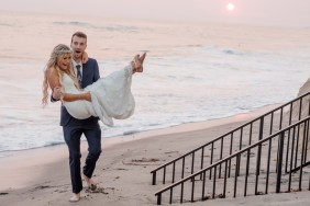 hi tide wedding photos surf and sand resort laguna beach