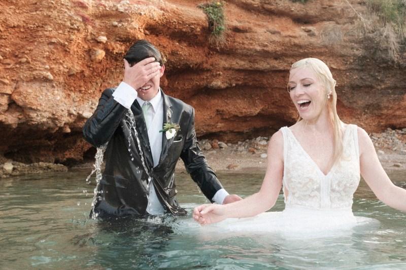 trash the dress greece destination wedding photographer nicole caldwell 11