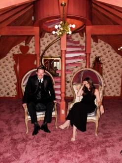 madonna inn engagement photos by nicole caldwell love nest