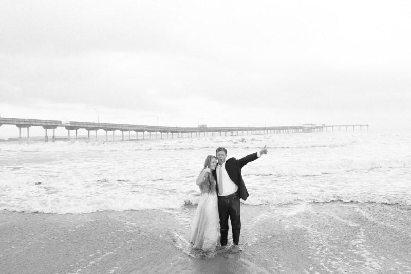 san diego wedding photographer nicole caldwell trash the dress ocean beach pier 18