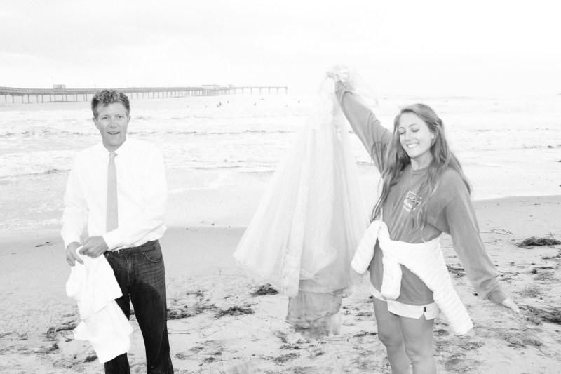 san diego wedding photographer nicole caldwell trash the dress ocean beach pier 19