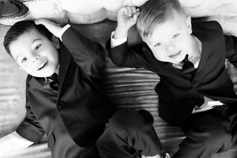 classic black and white family studio photographs nicole caldwell 04