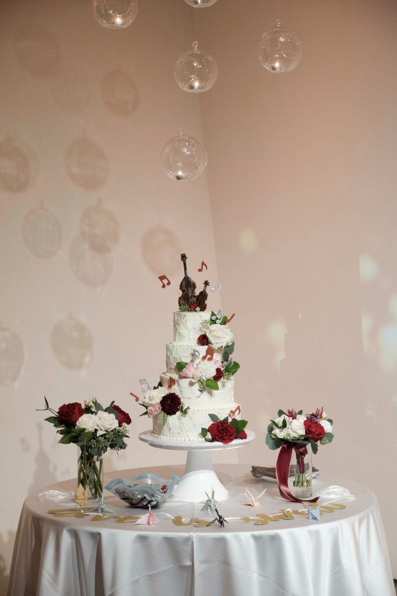 cake seven degrees wedding photographer laguna beach