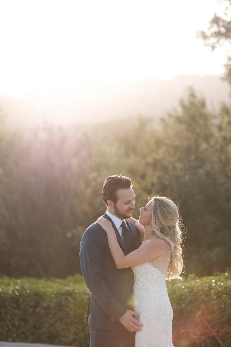 bride and groom Coto De Caza Raquet and golf club weddings by nicole caldwell