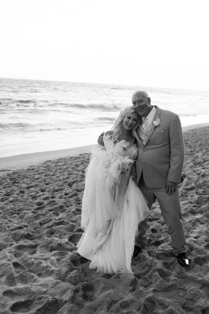 intimate second wedding Surf and Sand REsort Nicole Caldwell 21
