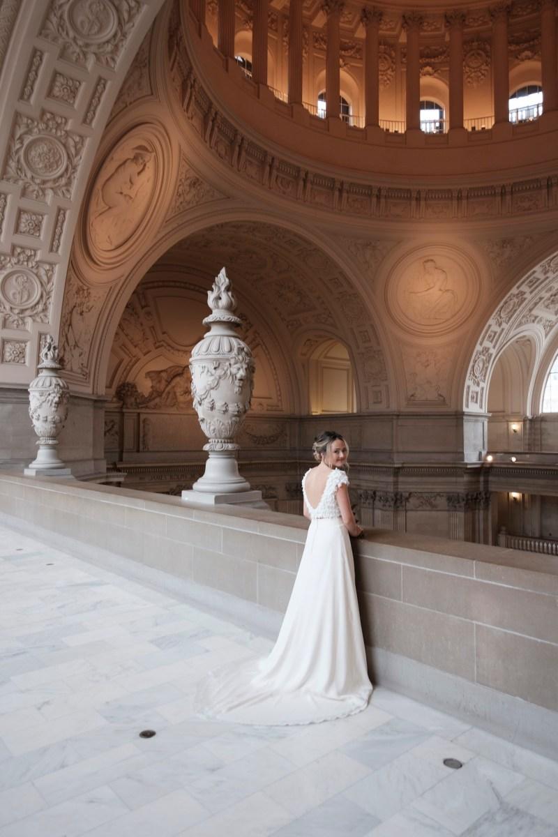 San Francisco city hall wedding nicole caldwell photography 008