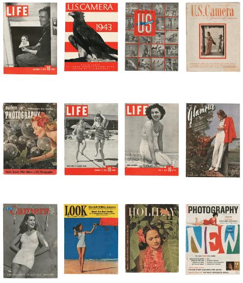Fritz Henle's Magazine Covers