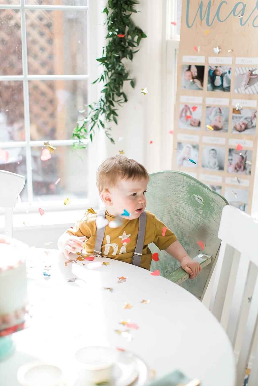 Lucas\'s 1st Birthday Party | Nicole Conner PhotographyLucas\'s 1st ...