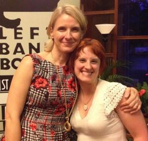 Elizabeth Gilbert and me, July 2014